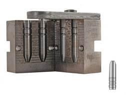 Lyman 2-Cavity Bullet Mold #266673 6.5mm (264 Diameter) 150 Grain Silhouette Semi-Point Gas Check