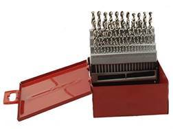 Baker 60 Piece Drill Bit Set Short Length High Speed Steel