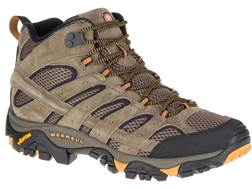 "Merrell Moab 2 Vent Mid 5"" Waterproof Hiking Boots Leather/Synthetic"