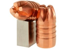 Lehigh Defense Xtreme Penetrator Bullets 38 Caliber (357 Diameter) 140 Grain Solid Copper Fluid T...