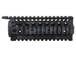 Daniel Defense Omega 7.0 Free Float Tube Handguard Quad Rail AR-15 Carbine Length Aluminum Black