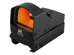 NcStar Tactical Micro Reflex Red Dot Sight 2 MOA Matte with On/Off Switch and Integral Weaver-Sty...