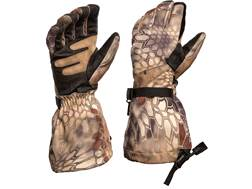Kryptek Aegis Extreme Insulated Gloves Leather/Synthetic Blend Highlander Camo Large