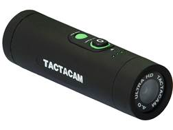 TACTACAM 4.0 Action Camera with Bow Stabilizer Mount Flat Black