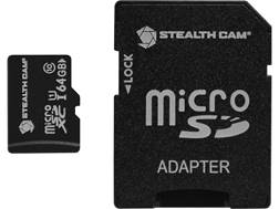 Stealth Cam Micro SD Memory Card with Adapter