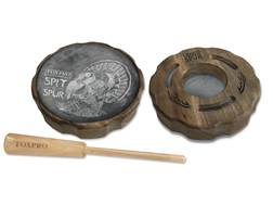 FoxPro Spit-N-Spur Slate and Glass Pot Turkey Call
