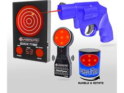 LaserLyte Shooting Gallery Kit with Quick Tyme Target, Steel Tyme Targets, Rumble Tyme Targets an...