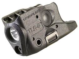 Streamlight TLR-6 Glock 26, 27, 33 Weapon Light LED and Laser Polymer Black