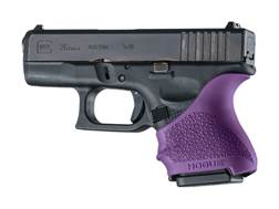 Hogue Handall Slip-On Beavertail Grip Sleeve Glock 26, 27 Rubber Purple