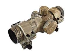 Bushnell Trophy Red Dot Sight 1x 28mm 6 MOA Dot with Weaver-Style Rings Realtree APG Camo