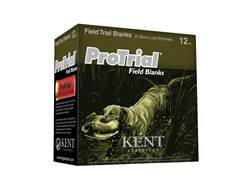 "Kent Cartridge ProTrial Field Blank Ammunition 12 Gauge 2-1/2"" Smokeless Blank"