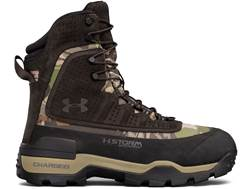 "Under Armour UA Brow Tine 2.0 8"" Waterproof 1200 Gram Insulated Hunting Boots Leather Men's"
