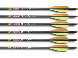 "Carbon Express Mayhem Carbon Crossbow Bolt 4"" Vanes Black Pack of 6"