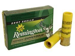 "Remington Premier Ammunition 20 Gauge 2-3/4"" 5/8 oz Copper Solid Sabot Slug Lead-Free Box of 5"
