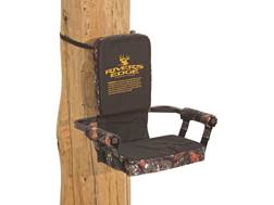 Rivers Edge Lounger Tree Seat Steel Gray and Camo