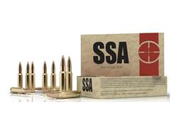 Silver State Armory Ammunition 7.62x39mm Remington 123 Grain Nosler Varmageddon Flat Base Tipped ...