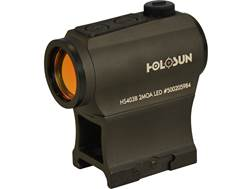 Holosun HS403B Paralow Red Dot Sight 1x 2 MOA Dot Weaver-Style Low and Lower 1/3 Co-Witness Mount...