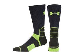 Under Armour Men's UA Coldgear Scent Control Boot Socks Synthetic Blend