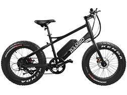 Rambo Bikes 350 Watt Motorized Junior Fat Bike Matte Black