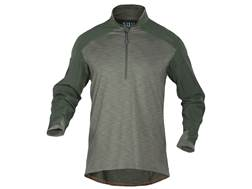 5.11 Men's Rapid Response 1/4 Zip Shirt Long Sleeve Synthetic Blend Regatta Large