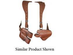 Bianchi X16 Agent X Shoulder Holster System Right Hand S&W 1006, 4506, CS40, CS45 Leather Tan- Bl...