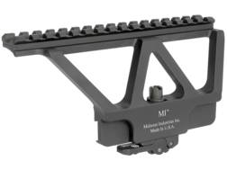 Midwest Industries Quick Detach Picatinny-Style Scope Mount AK-47, AK-74 Side Rail Matte