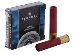 "Federal Power-Shok Ammunition 410 Bore 2-1/2"" 1/4 oz Hollow Point Rifled Slug Box of 5"