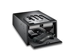 "GunVault Biometric MiniVault Personal Electronic Safe 8"" x 5"" x 12"" Black"