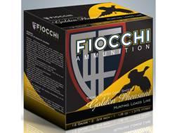 "Fiocchi Golden Pheasant Ammunition 12 Gauge 2-3/4"" 1-3/8 oz #6 Nickel Plated Shot Box of 25"