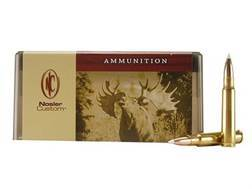 Nosler Custom Ammunition 8x57mm JS Mauser (8mm Mauser) 200 Grain AccuBond Spitzer Box of 20