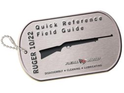 Real Avid Ruger 10/22 Field Guide Disassembly and Cleaning Guide