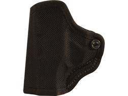 DeSantis Nylon Mini-Scabbard Belt Holster S&W Bodyguard 380 with Laser Nylon Black