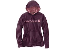 Carhartt Women's Force Extremes Signature Graphic Logo Hoodie Polyester/Cotton
