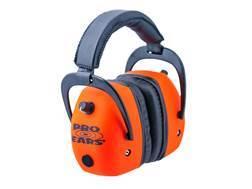 Pro Ears ProMag Gold Electronic Earmuffs (NRR 30 dB) Orange
