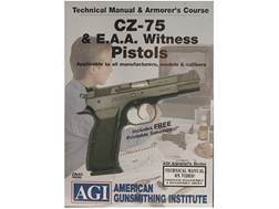 "American Gunsmithing Institute (AGI) Technical Manual & Armorer's Course Video ""CZ-75 & E.A.A. Wi..."