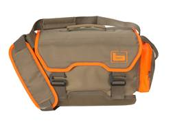 Banded Upland Hunting Bag Polyester Brown and Blaze Orange