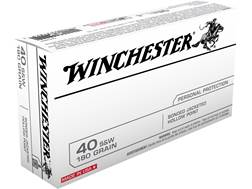 Winchester Ammunition 40 S&W 180 Grain Bonded Hollow Point