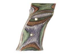 Hogue Fancy Hardwood Grips S&W 41 with Left Hand Thumb Rest Checkered