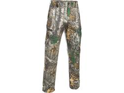 "Under Armour Men's UA Deadload Field Pants Polyester Realtree Xtra Camo 42"" Waist 32"" Inseam"