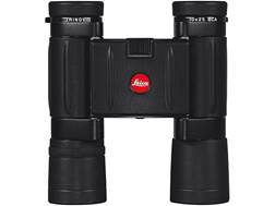 Leica Trinovid BCA Compact Binocular 10x 25mm Roof Prism Black with Case