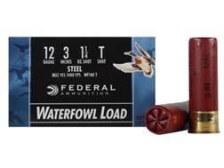 "Federal Speed-Shok Waterfowl Ammunition 12 Gauge 3"" 1-1/4 oz T Non-Toxic Steel Shot"