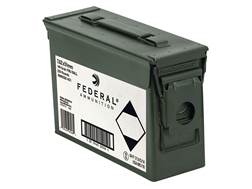 Federal Ammunition 7.62x51mm NATO 149 Grain XM80CL Full Metal Jacket Ammo Can of 220 Rounds