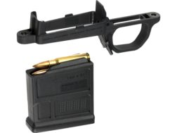 Magpul Hunter 700 Short Action Detachable Magazine Well with Magazine Polymer Black