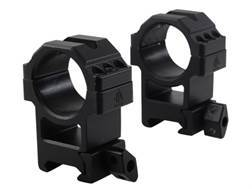 Leapers UTG 30mm Max Strength Tactical 6-Hole Quick Detachable Twist Lock Picatinny-Style Rings M...