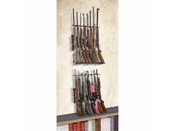 Rack'Em Racks 16 Rifle Double Decker Vertical Rifle Display 2-Rifle Barrel Rests and 1-Buttstock ...