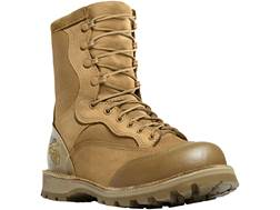 "Danner USMC Rat 8"" Uninsulated Steel-Toe Tactical Boots Leather and Nylon Mojave Men's 8 D"