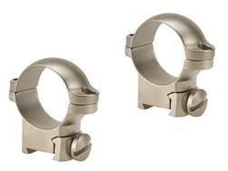 """Leupold 1"""" Ring Mounts Sako Silver Medium"""