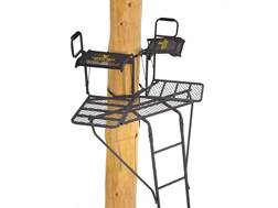 Rivers Edge 2-Man Bowman Ladder Treestand Steel Gray