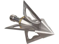 Wac'Em 4-Blade Fixed Blade Broadhead Stainless Steel Pack of 4