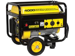 Champion 3500/4000 Watt Gas Powered Generator with Wheel Kit